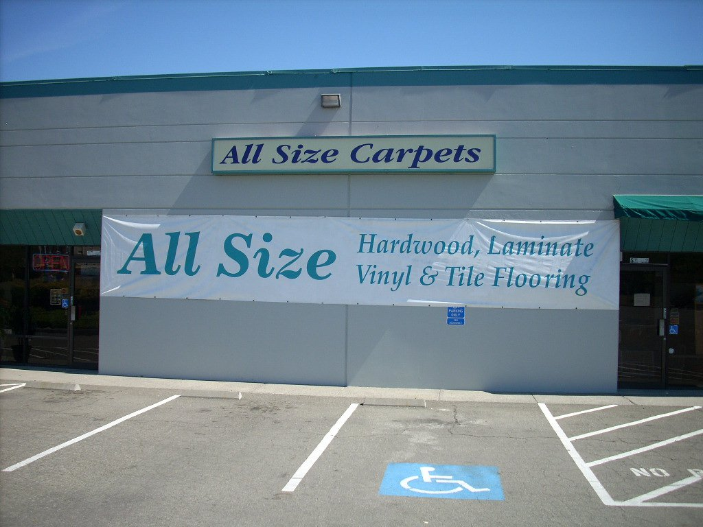 All Size Flooring Storefront
